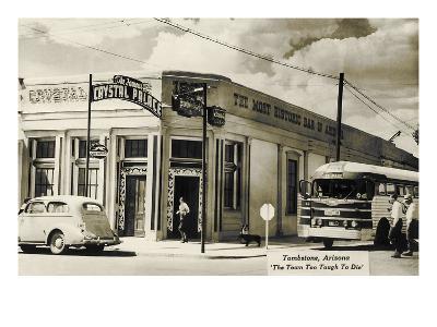 Bus Depot, Tombstone, Arizona--Art Print