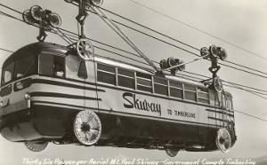 Bus-Like Tramway to Mt. Hood, Oregon