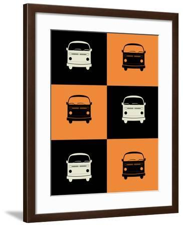 Bus Poster-NaxArt-Framed Art Print