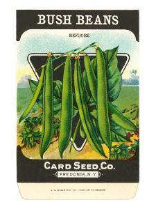 Bush Bean Seed Packet