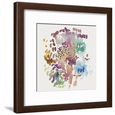 Bushel of Florals I-PI Studio-Framed Art Print