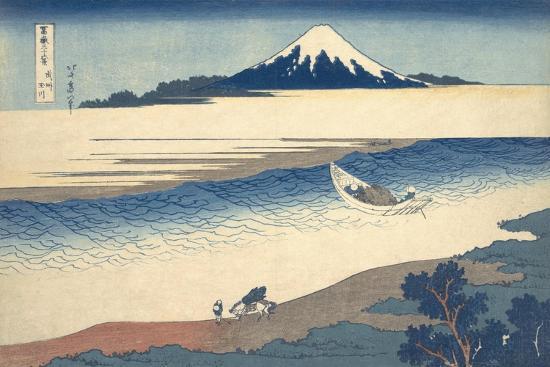 Bushu Tamagawa (The Tama River in Musashi Province)-Katsushika Hokusai-Giclee Print
