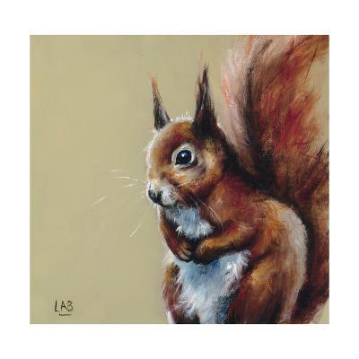 Bushy Tailed-Louise Brown-Giclee Print