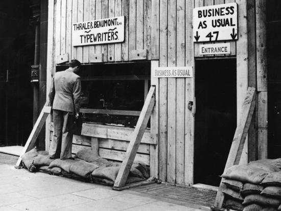 Business As Usual--Photographic Print
