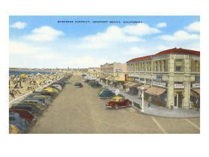 Business District, Newport Beach, California