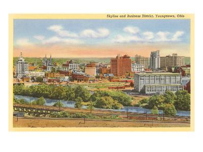 Business District, Youngstown, Ohio--Art Print