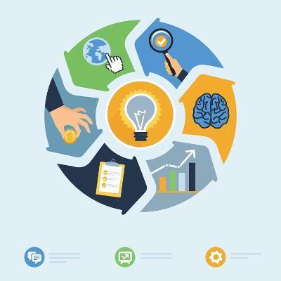 Business Start Up Concept-venimo-Art Print