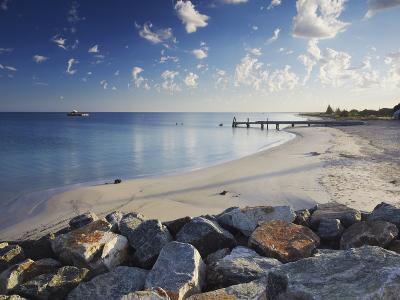 Busselton Beach at Dawn, Western Australia, Australia, Pacific-Ian Trower-Photographic Print