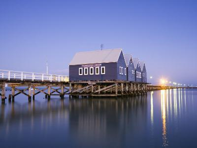 Busselton Jetty at Dawn-Andrew Watson-Photographic Print