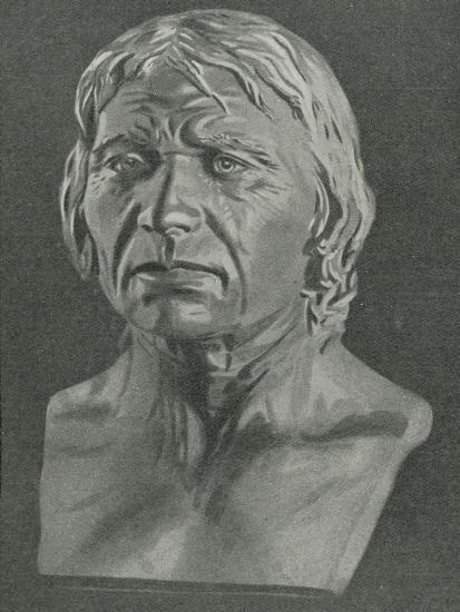 Bust of a Cro-Magnon Man--Giclee Print