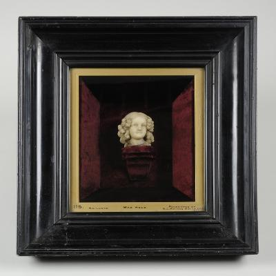 Bust of a Girl, C.1850-Richard Cockle Lucas-Giclee Print
