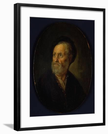 Bust of a Man, c.1635-40-Gerrit or Gerard Dou-Framed Giclee Print