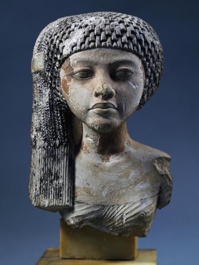 Bust of Akhenaten's Daughter--Giclee Print