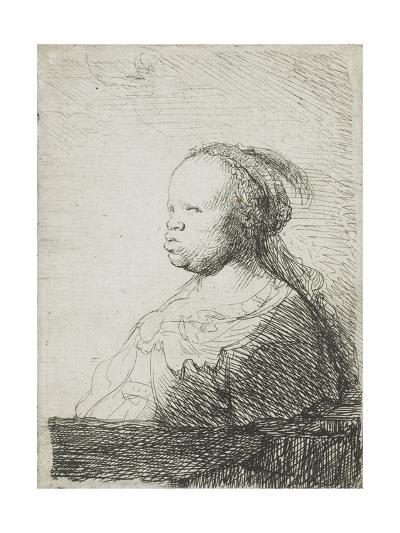 Bust of an African Woman, 1628-32-Rembrandt van Rijn-Giclee Print