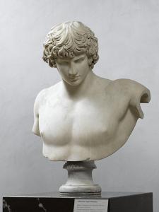 Bust of Antinous, Antinous Said Ecouen (117-138 Ad)