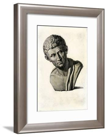 Bust of Aristotle--Framed Giclee Print