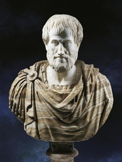 Bust of Aristotle--Giclee Print