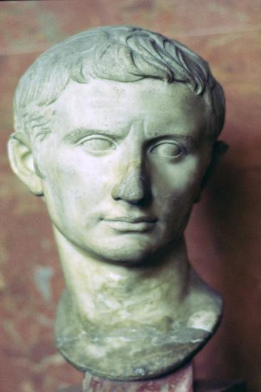 Bust of Augustus, 1st century BC. Artist: Unknown-Unknown-Giclee Print