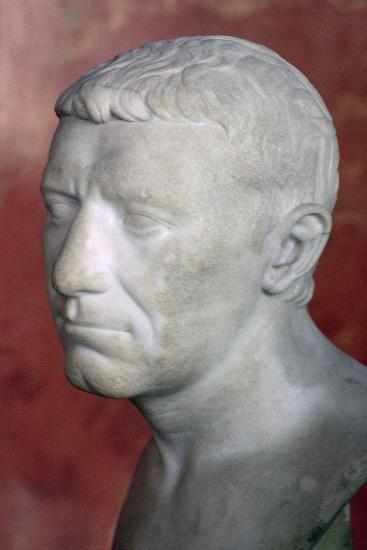 Bust of Corbulo, 1st century. Artist: Unknown-Unknown-Giclee Print