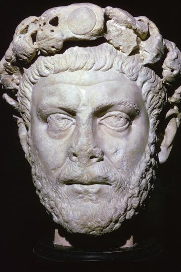 Bust of Diocletian. Artist: Unknown-Unknown-Giclee Print