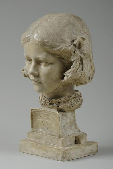 Bust of Elfrida Thornycroft, 1909-William Hamo Thornycroft-Giclee Print