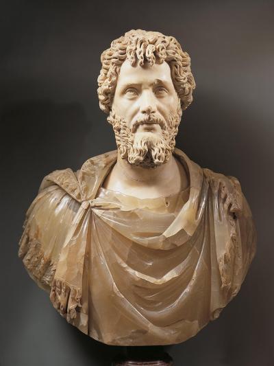 Bust of Emperor Septimius Severus--Giclee Print