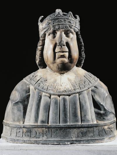 Bust of Ferdinand I (Ferrante) of Aragon (Valencia--Giclee Print