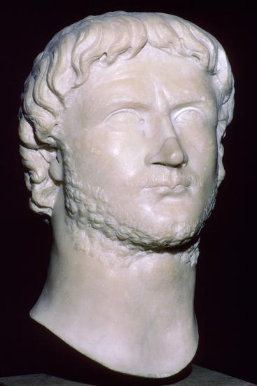 Bust of Gallienus, 3rd century. Artist: Unknown-Unknown-Giclee Print
