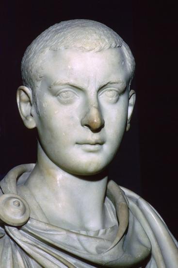 Bust of Gordian III, 3rd century. Artist: Unknown-Unknown-Giclee Print
