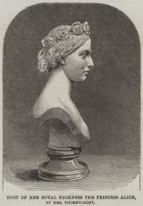 Bust of Her Royal Highness the Princess Alice, by Mrs Thornycroft