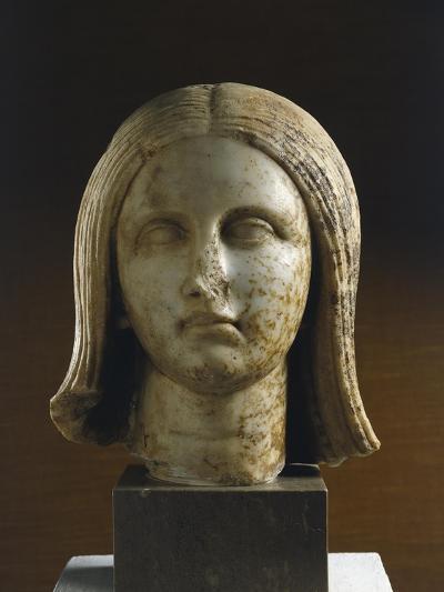 Bust of Hispania, Artifact Uncovered in Munigua, Spain--Giclee Print