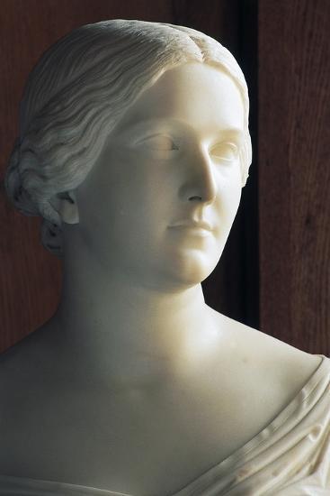 Bust of J Stephanie Von Baden (1813-1900) Symbolizing Season of Autumn--Giclee Print