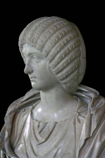 Bust of Julia Domna. Artist: Unknown-Unknown-Giclee Print