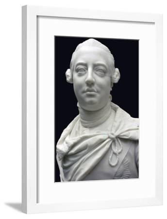 Bust of King George III of England, 1767. Artist: John Nost-John Nost-Framed Giclee Print