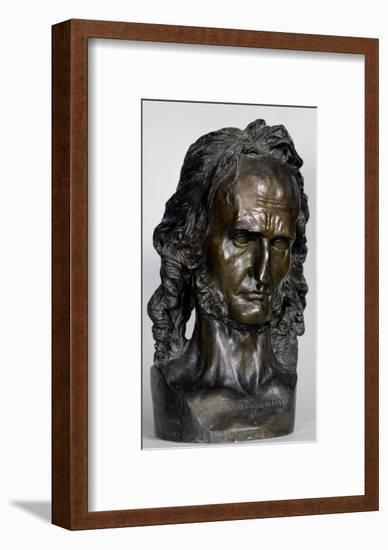 Bust of Nicolo Paganini 1830-Pierre Jean David d'Angers-Framed Giclee Print