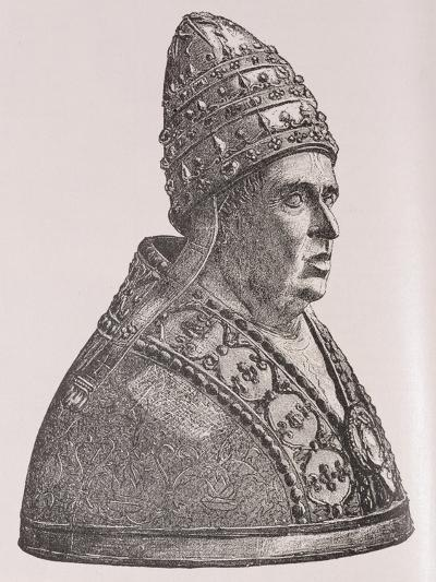 Bust of Pope Alexander VI--Giclee Print