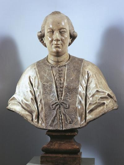 Bust of Pope Pius VI--Giclee Print