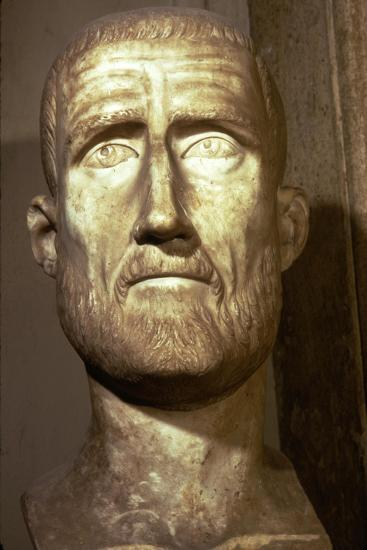 Bust of Probus, Roman Emperor (276-282), c3rd century-Unknown-Giclee Print