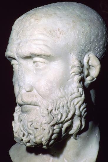 Bust of Pupienus Maximus, 2nd century. Artist: Unknown-Unknown-Giclee Print