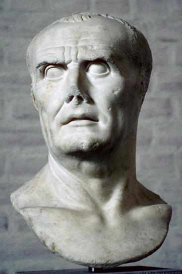 Bust of Sulla. Artist: Unknown-Unknown-Giclee Print