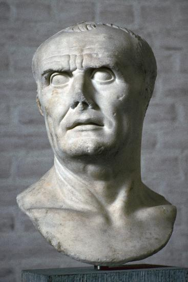 Bust of the Roman dictator Sulla, 1st century. Artist: Unknown-Unknown-Giclee Print