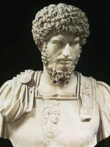 Bust of the Roman Emperor Lucius Verus (Lucius Aelius Aurelius Commodus), d. 169 AD