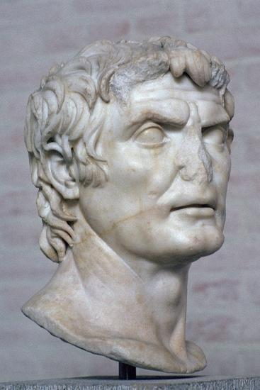 Bust of the Roman republican general Marius, 2nd century. Artist: Unknown-Unknown-Giclee Print