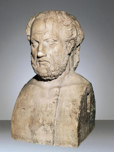 Bust of Thucydides--Giclee Print
