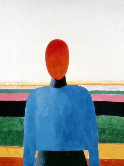 Bust of Woman-Kasimir Malevich-Giclee Print