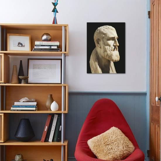 Bust Of Zeno Of Citium Giclee Print By Art Com