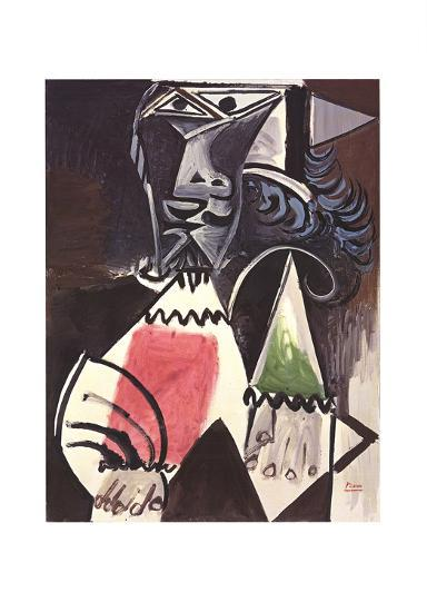 Buste d'Homme-Pablo Picasso-Collectable Print