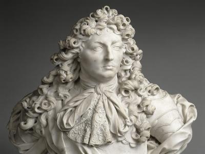 Buste de Louis XIV, roi de France et de Navarre (1638-1715)-Antoine Coysevox-Giclee Print