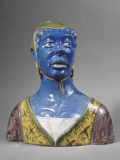 Buste de mauresque-Luca Della Robbia-Giclee Print