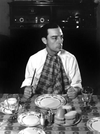 Buster Keaton, 1933-George Hurrell-Photo